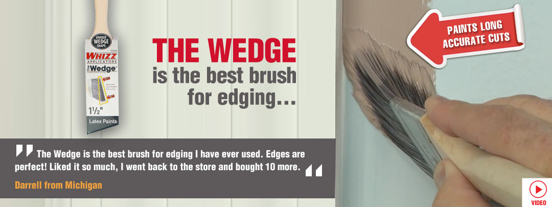 Wedge Brush
