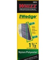 22015 - WHIZZ PROFESSIONAL WEDGE NYLON/POLY 1 1/2""
