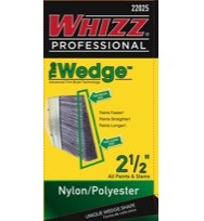 22025 - WHIZZ PROFESSIONAL WEDGE NYLON/POLY 2 1/2""