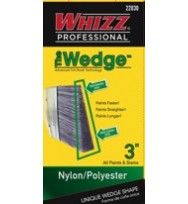 22030 - WHIZZ PROFESSIONAL WEDGE NYLON/POLY 3""