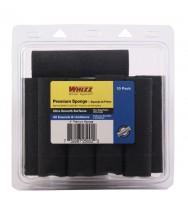 """25002 - Whizz 4"""" Premium Black Foam Concave Roller (10Pk)"""