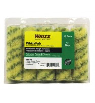 "25005 - Whizz 4"" X 1/2"" WhizzFab Fabric Rollers (10Pk)"