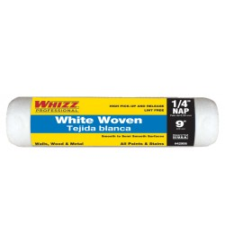 """42906 - 9"""" X 1/4"""" WHITE WOVEN CAGE ROLLER (1PK)"""
