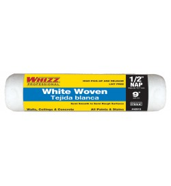 """42913 - 9"""" X 1/2"""" WHITE WOVEN CAGE ROLLER (1PK)"""
