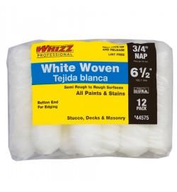 "44575 - 6.5"" X 3/4"" WHIZZFLEX WHITE WOVEN (12PK)"