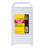 57100- 1 GALLON WHITE GRID