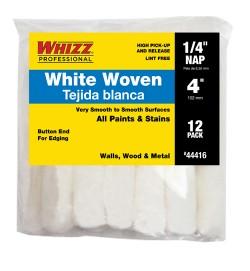 "44416 - 4"" X 1/4 WHIZZFLEX WHITE WOVEN (12PK)"
