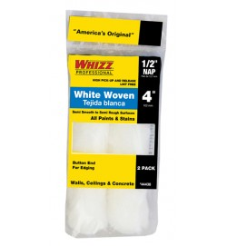 "44438 - 4"" X 1/2 WHIZZFLEX WHITE WOVEN (2PK)"