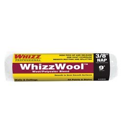 """43909 - 9"""" X 3/8"""" WHIZZWOOL WOOL/POLYESTER BLEND"""