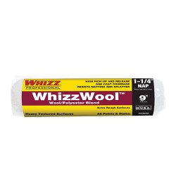 """43922 - 9"""" X 1 1/4"""" WHIZZWOOL WOOL/POLYESTER BLEND"""